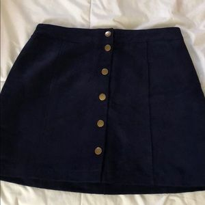 bottom down skirt